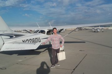 Congratulations Charles A. on your IFR rating!!